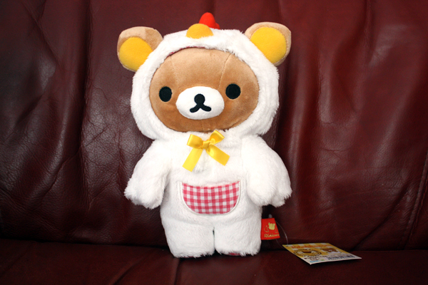 Chicken suit Rilakkuma - full body shot