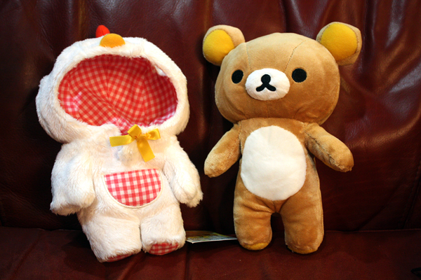 Chicken Rilakkuma - removable suit