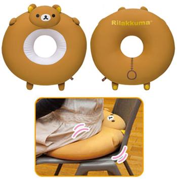 Donut Rilakkuma Cushion