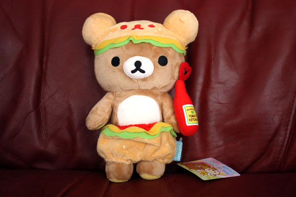 Hamburger Rilakkuma - full body shot
