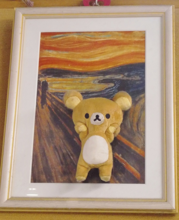 Edvard Munch's The Scream Rilakkuma