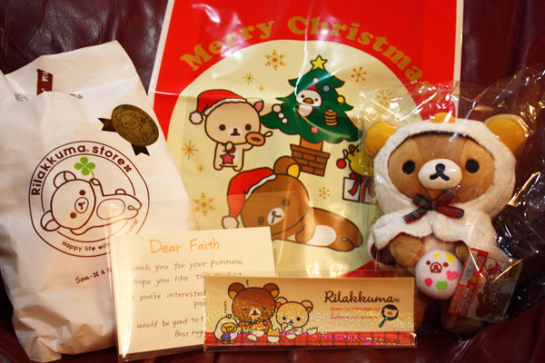 Caravan Chicken Rilakkuma - package and gifts