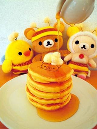 Rilakkuma meets Pancake Days - 5 tier stack