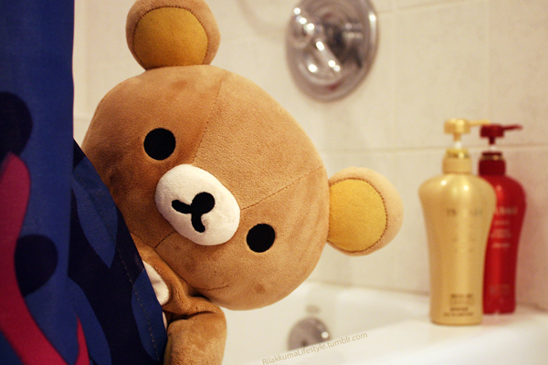 Rilakkuma Lifestyle Tumblr - Bath