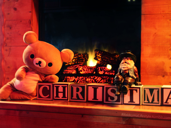 Happy holidays Rilakkuma