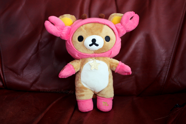 Scorpio Rilakkuma - full body shot