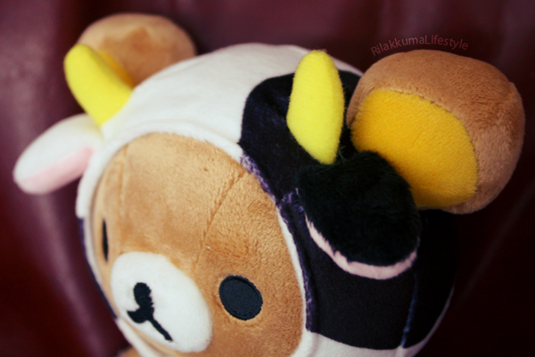 Taurus Rilakkuma - head close-up