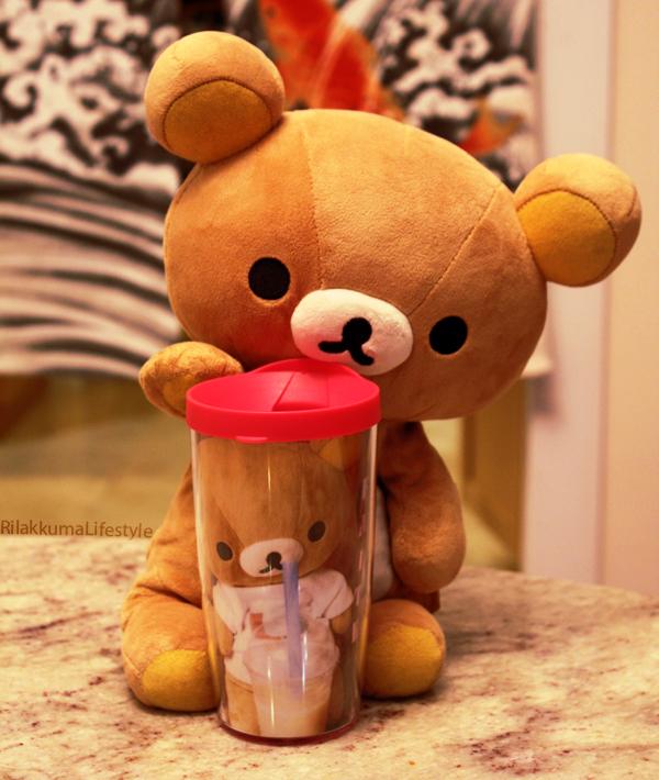 Rilakkuma Lifestyle Tervis - boba cup