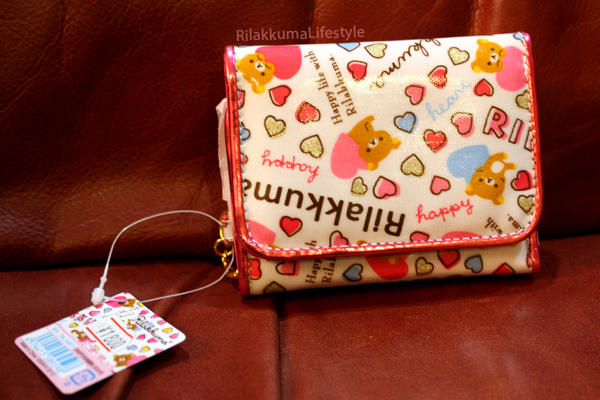 Rilakkuma Wallets - Happy front