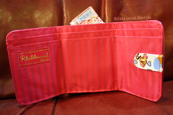 Rilakkuma Wallets - Happy inside