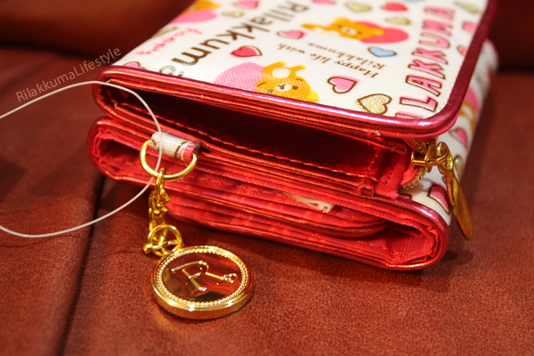 Rilakkuma Wallets - Happy mongram charm