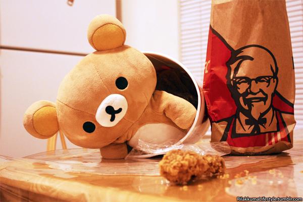 KFC x Rilakkuma 2013 - Rilakkuma Lifestyle