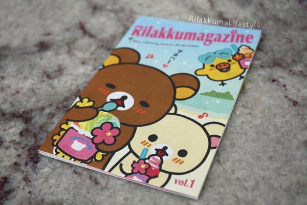 Rilakkumagazine - front
