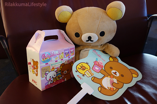 Rilakkuma x KFC - fan and box