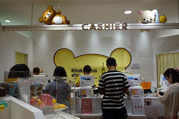 Tokyo Skytree Rilakkuma Store - cashier