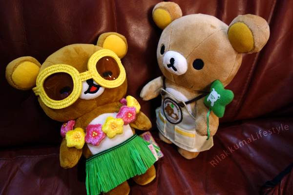 Aloha Rilakkuma Caravan - with clerk