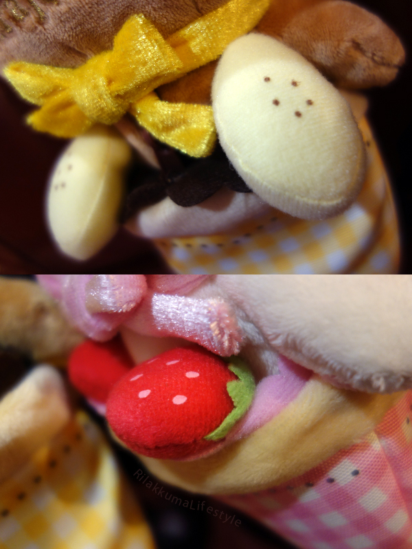 Harajuku 1st Anniversary - banana and strawberry detail
