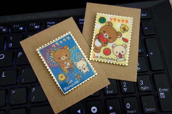 Harajuku 1st Anniversary - pins