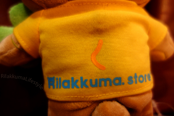 Rilakkuma as Kiiroitori - back