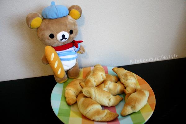 Bonjour Series Rilakkuma - croissants