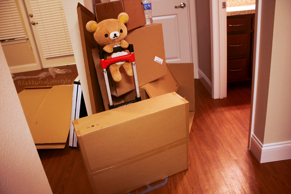 Rilakkuma moves in