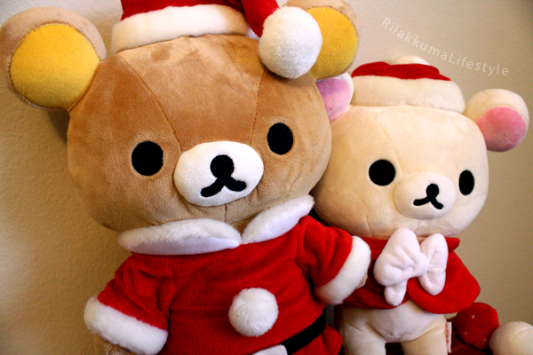 Christmas 2011 San-X Net Shop Exclusive - Rilakkuma and Korilakkuma