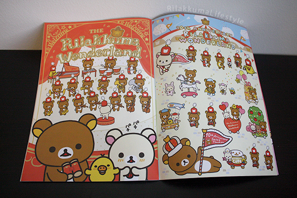 Rilakkuma Fan Magazine - illustrations