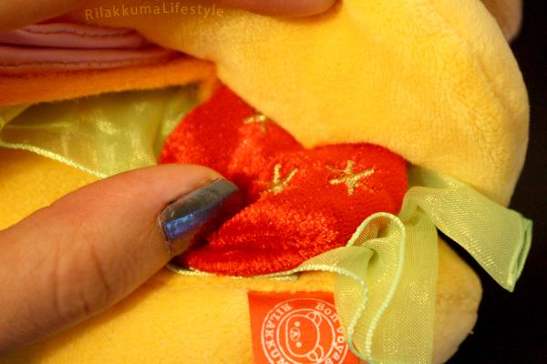 Sandwich Rilakkuma - tomato detail