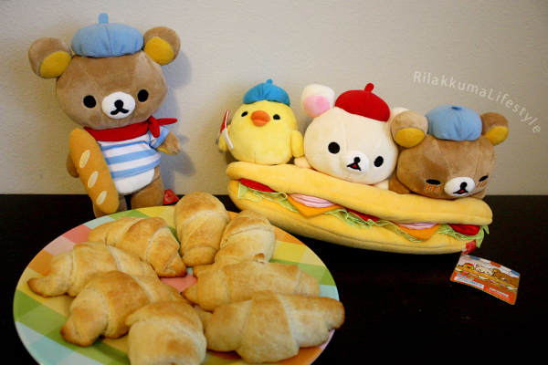 Sandwich Rilakkuma - with croissants