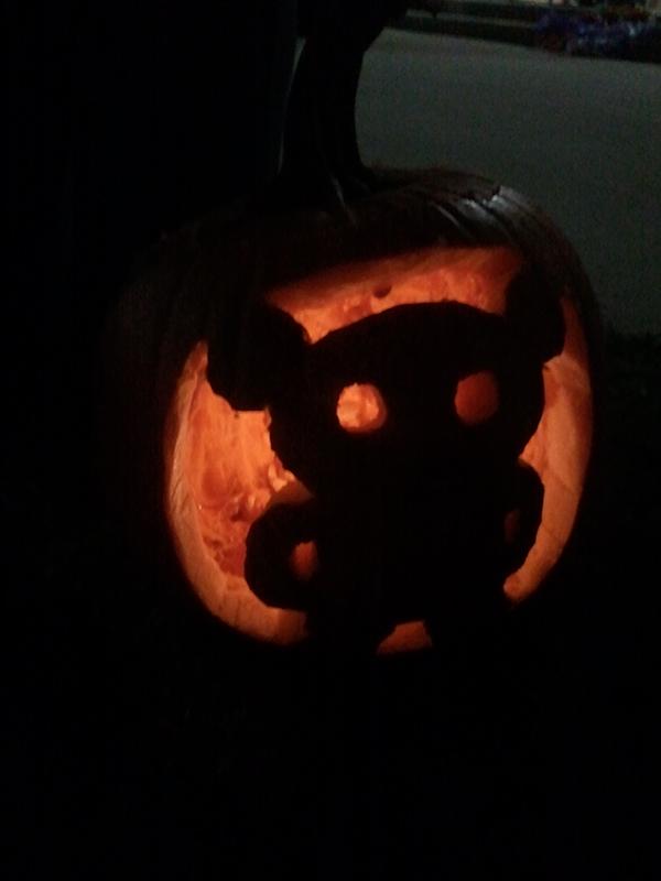 Rilakkuma pumpkin - 2013
