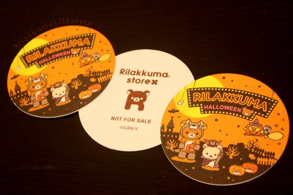 Rilakkuma Store 5th Anniversary - coasters