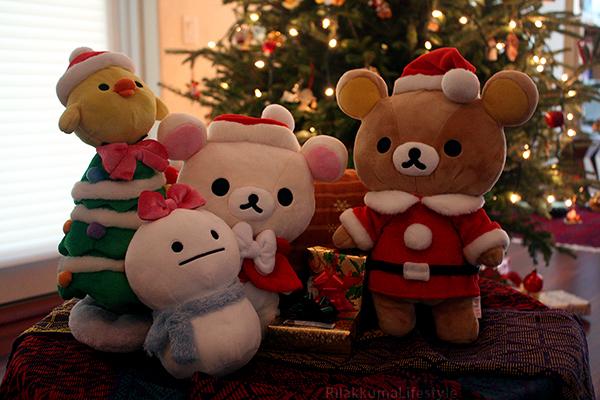 Christmas 2011 San-X Net Shop Exclusive - Christmas 2013
