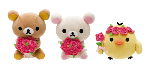 Rose Series - individual plushies