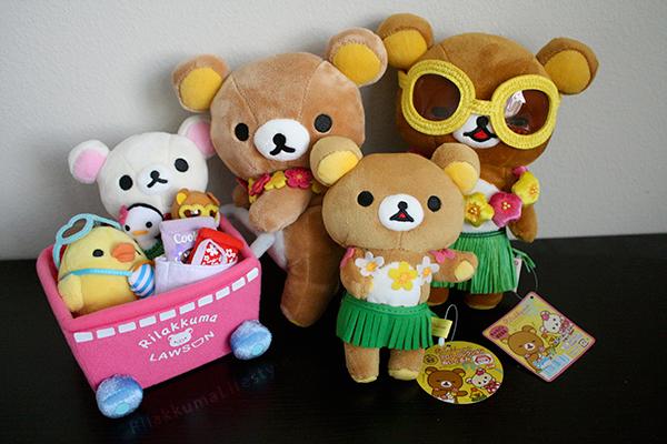 Fansclub Aloha Rilakkuma - family