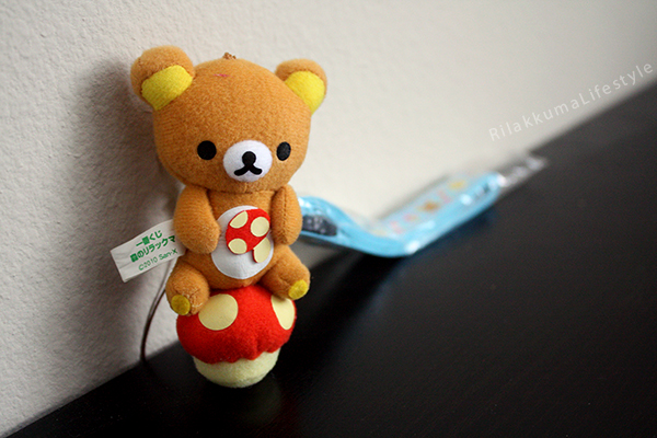 Forest Series Rilakkuma Lanyard - full