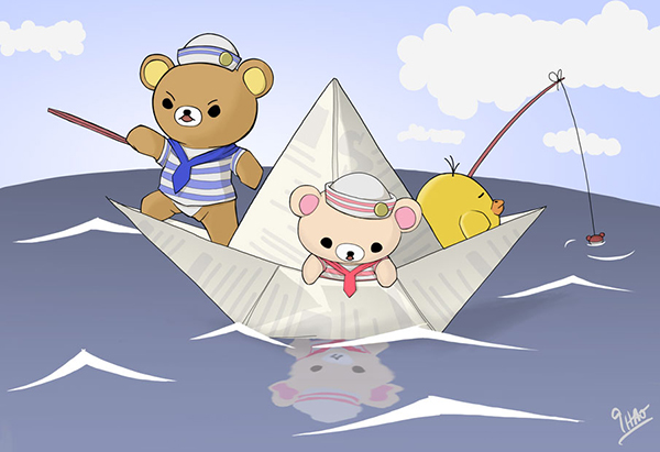 Simon Ho - Rilakkuma Crossing The Ocean