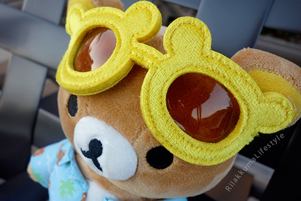 Aloha Rilakkuma Store Exclusive - shade detail