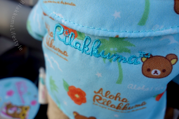 Aloha Rilakkuma Store Exclusive - back detail
