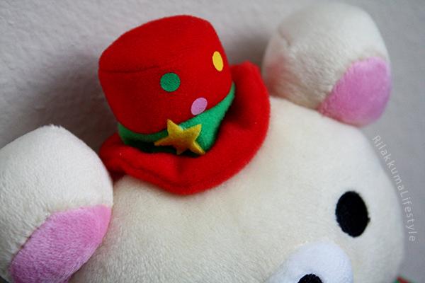 2013 Christmas Fansclub Korilakkuma - hat detail