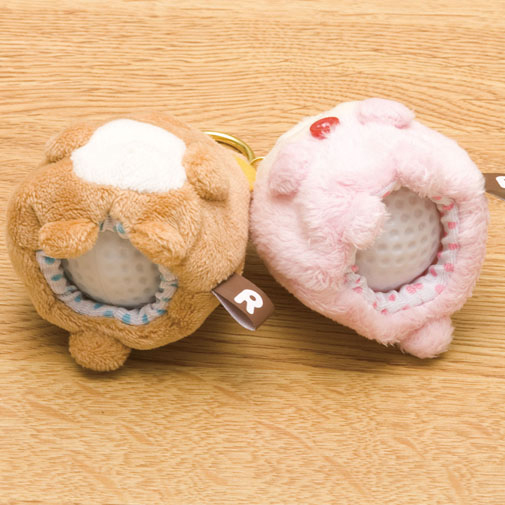 Rilakkuma Golf Ball Holders - bottom