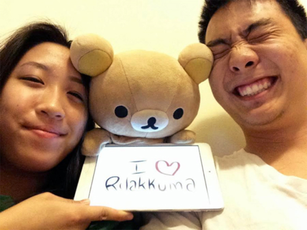 "Mira Plush ""I Love Rilakkuma"" Contest - submission"