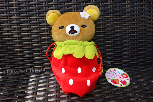 Stawberry Bag Rilakkuma - full