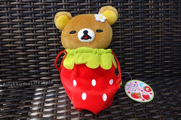 Stawberry Bag Rilakkuma - full