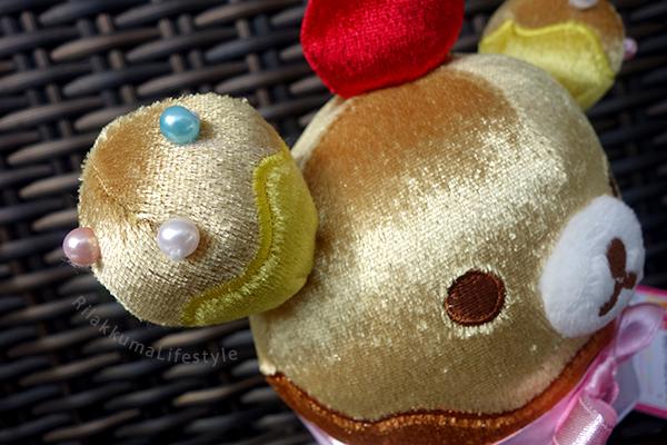 Cupcake Rilakkuma - ear detail
