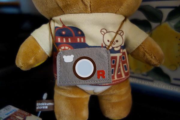 Marunouchi Rilakkuma - camera detail