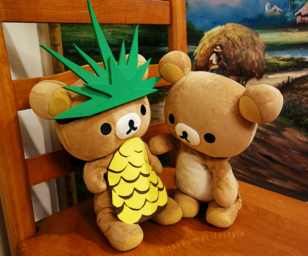 Pineapple Suit BD Bear - with Kuma-san