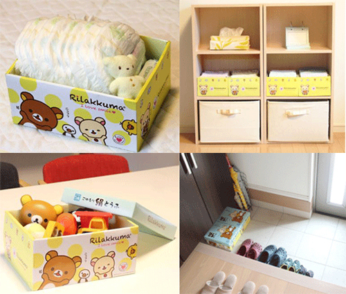 Rilakkuma Tofu - box uses