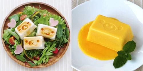 Rilakkuma Tofu - shapes