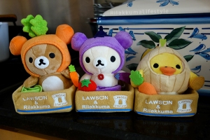 Lawson x Rilakkuma Vegetable Series