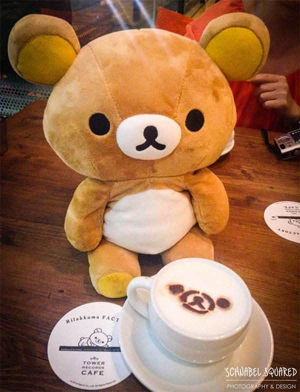 Rilakkuma Tower Records Cafe - angelacarpediem's photo album